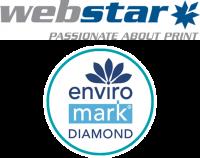 Webstar is Enviro-Mark Diamond certified
