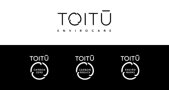Toitu Envirocare, carbonzero, carbonreduce and Enviro Marks