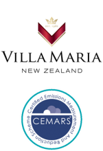 Villa Maria Estate and CEMARS certification logos