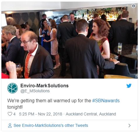 SBN Awards Twitter