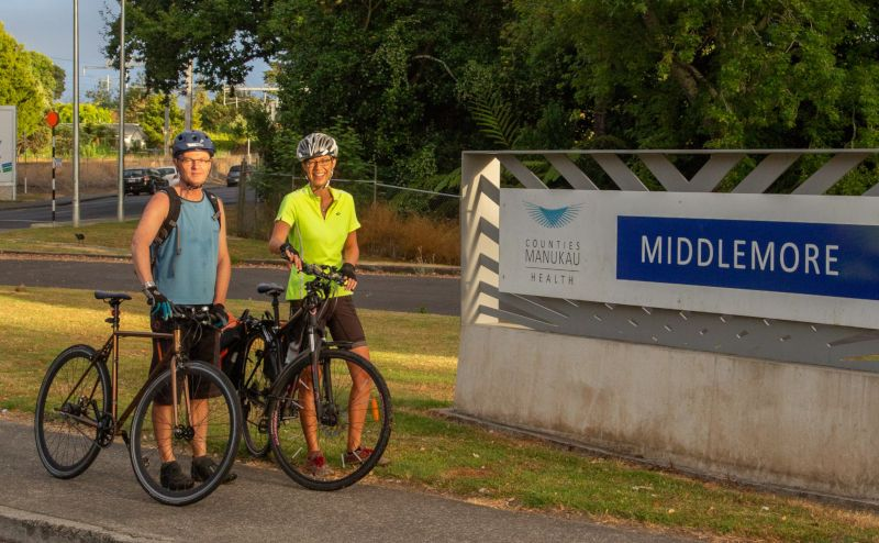 Cycling doctors at CMDHB