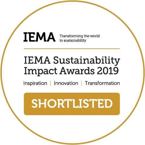 IEMA Sustainability Impact Awards 2019