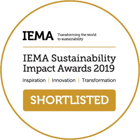 IEMA Sustainability Impact Awards 2019
