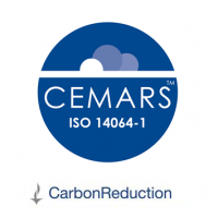 CEMARS and carbonReduction logos (UK Programme)