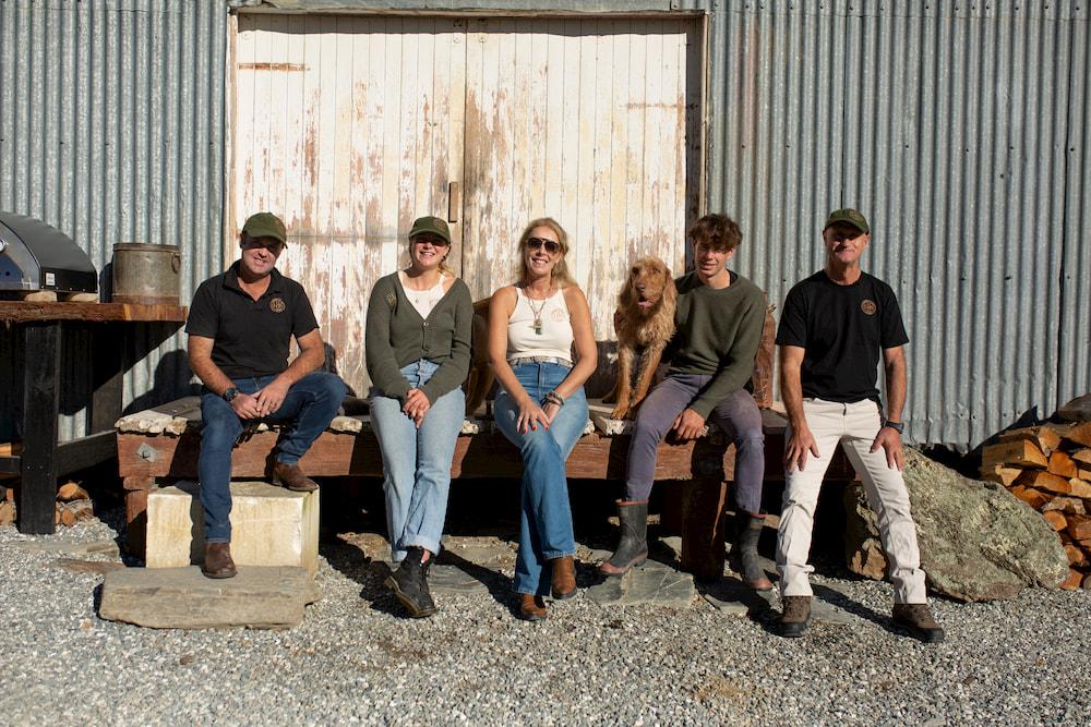 Team at Lake Hawea Station