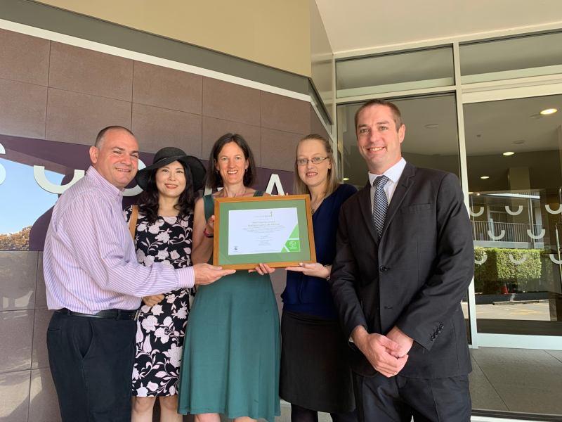 Sudima Rotorua carboNZero certificate presentation