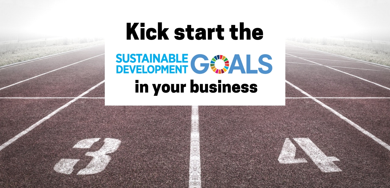 Kick start the Sustainable Development Goals (SDGs) in your business