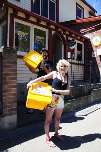 YHA New Zealand Rubbish Bins