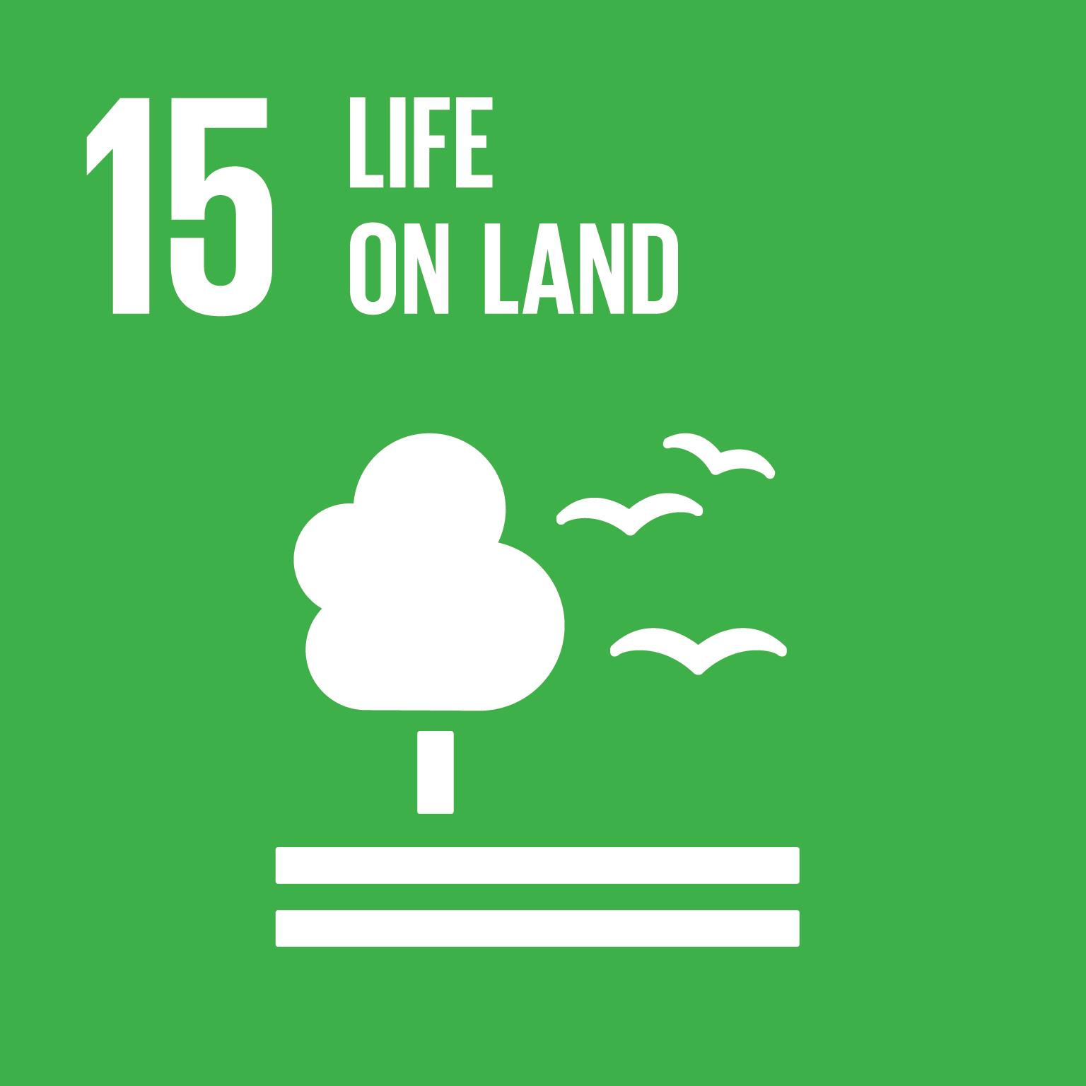 SDG GOAL 15: Life on Land