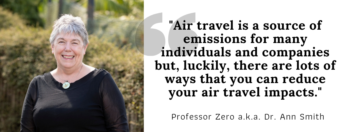 Dr Ann Smith on the carbon impacts of air travel