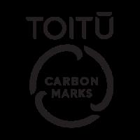 Toitū carbon marks logos