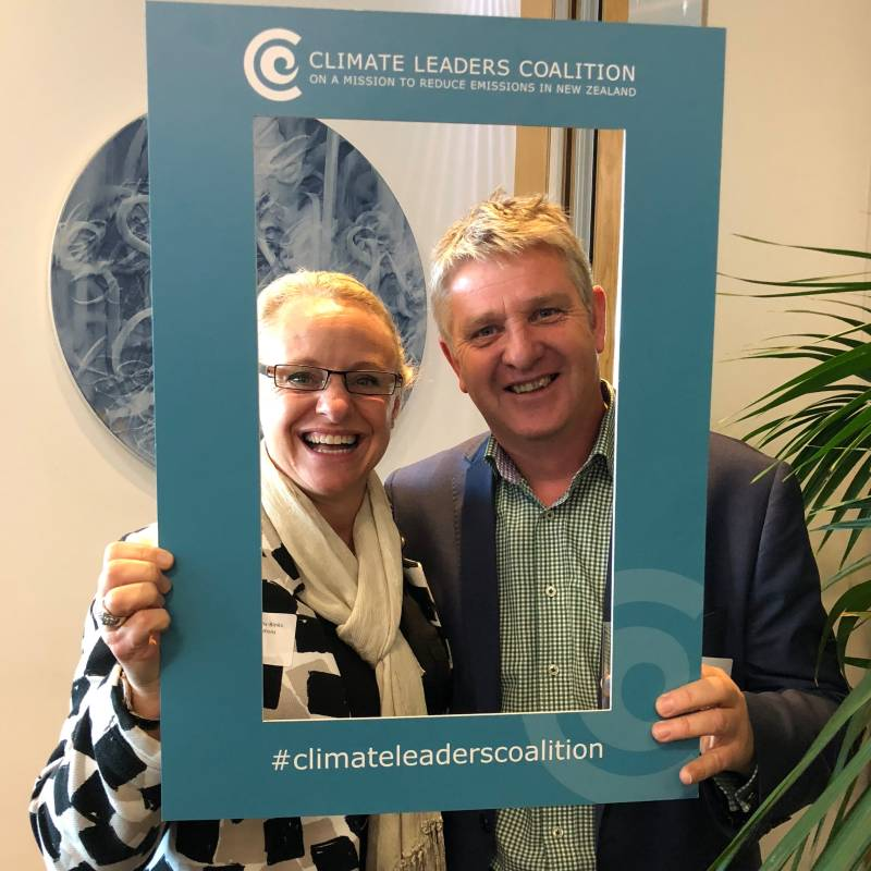 Enviro-Mark Solutions team at the Climate Leaders Coalition Launch