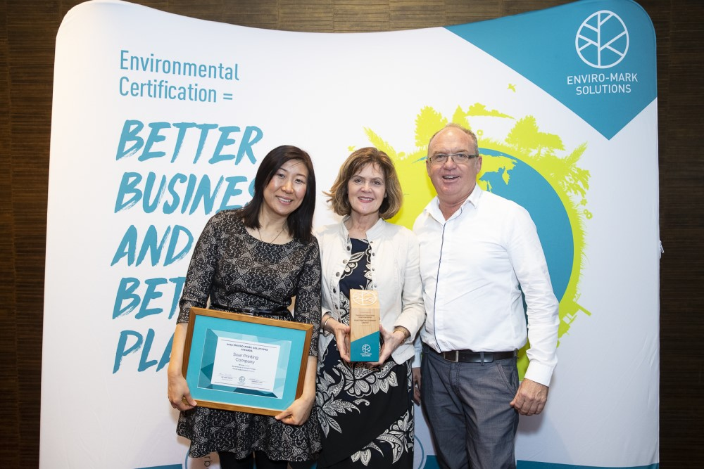 Soar Print | Winner of Excellence in Climate Action (Small) organisation award