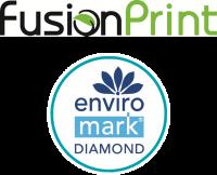 Fusion Print is Enviro-Mark Diamond certified