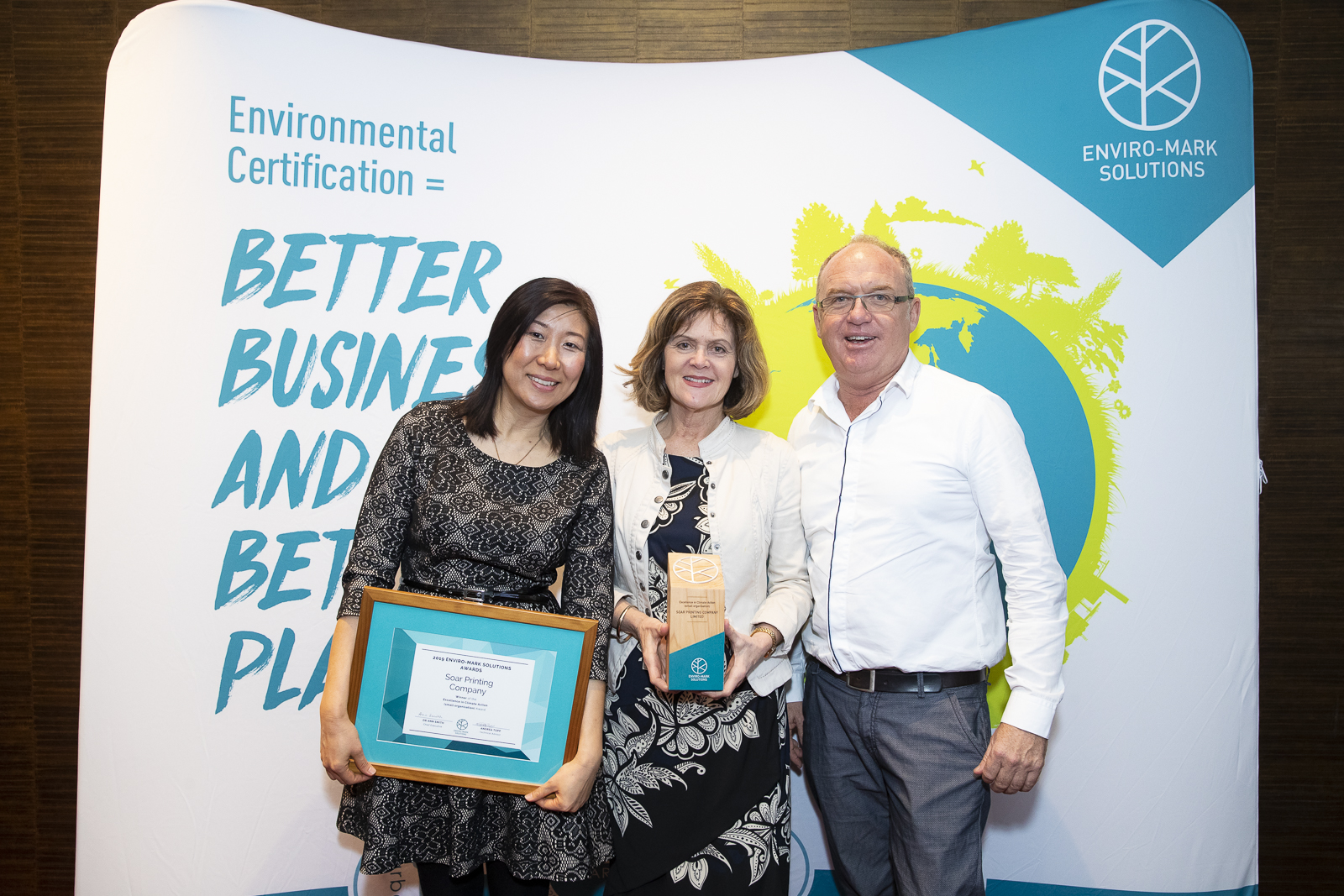 Soar Printing Company | Winner of Excellence in Climate Action Award