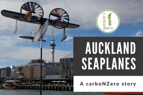 Auckland Seaplanes - Toitū carbonzero story