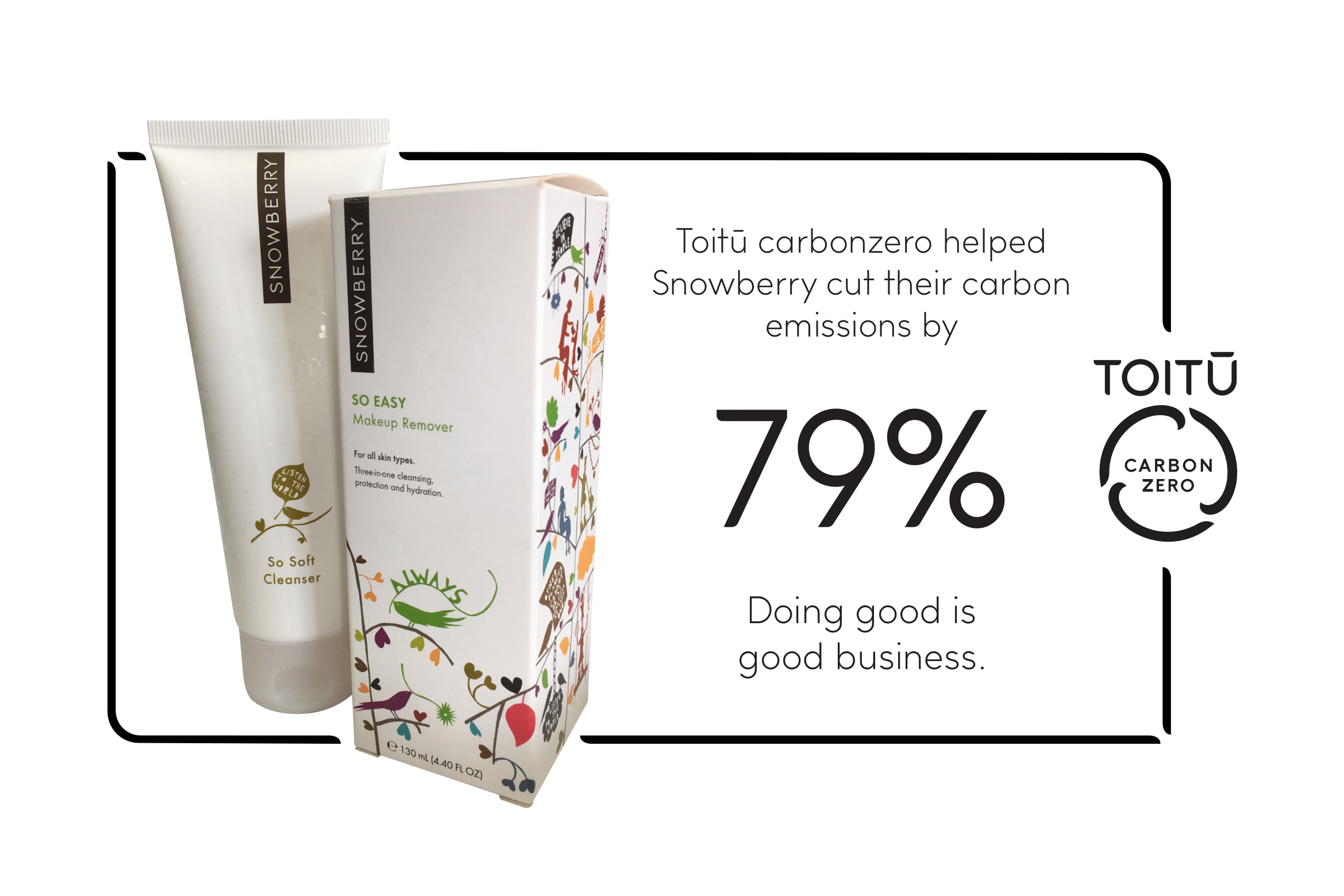 Snowberry cut emissions by 79%