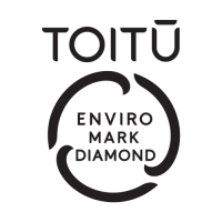 Toitū enviromark diamond logo