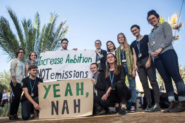 New Zealand Youth Action at COP22