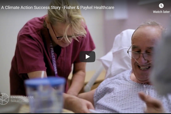 Fisher & Paykel Healthcare - doing the right thing through Toitū carbonreduce