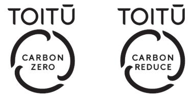 Toitū carbon programmes