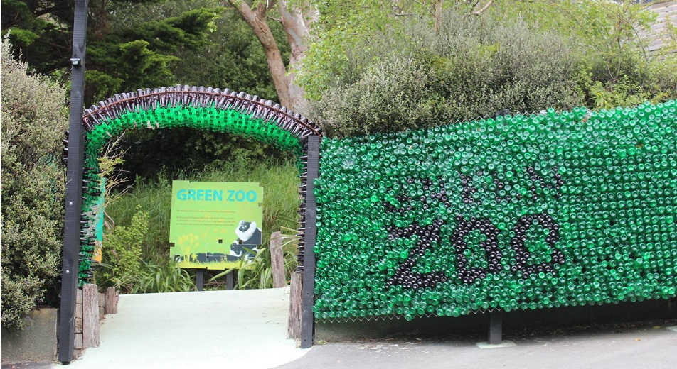 Wellington Zoo is proudly green