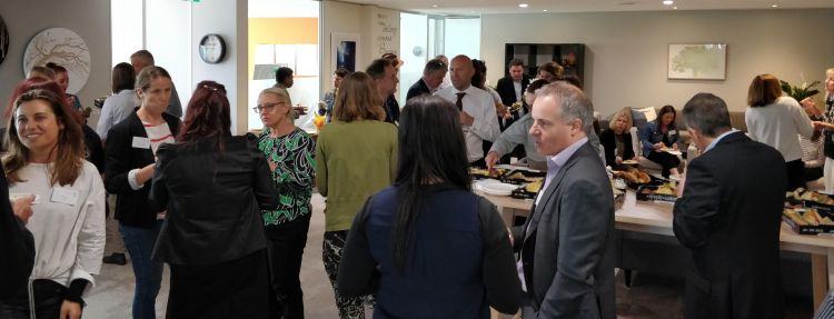 Networking at Sustainability Success - Stories from the South on 27 September
